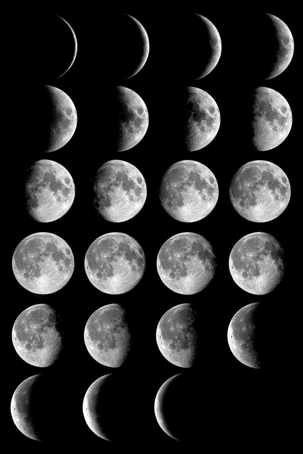Картинка Чому Місяць змінює форму